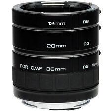 Kenko Teleplus DG AF Extension Tube 36 20 12 for Canon EOS