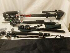 New ListingCamera tripod stand Equipment Cullman 1747 SteddiePod Video Sunpak Podmatic Tech