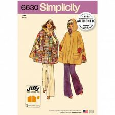 Free UK P&P - Simplicity Sewing Pattern 6630 (Simplicity-6630-OS(FP))
