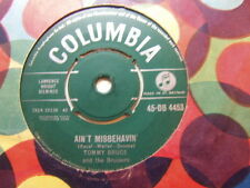 "Tommy Bruce – Ain't Misbehavin 1960 7"" Columbia DB 4453"