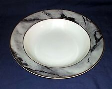 "MIKASA china TRAVERTINE GRAY pattern - Soup / Salad Bowl - 8 1/2"" Diameter"