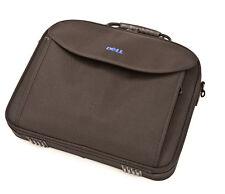 Dell Black Zipped Laptop Travel Bag/Case Compartments Office Space 42 x 34 x 7cm