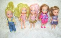 Wish World Dolls 1987 Kenner Lot of Five