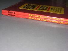 ROCK AND ROLL HALL OF FAME LIVE Vol. 3 LP (Rare 2 copies in Shrink Wrap) Vinyl