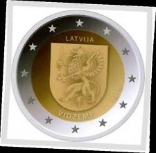 2 EURO *** Letland 2016 VIDZEME ***2 EURO ***  Lettonie VIDZEME 2016  !!!