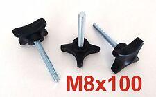 M8x100 Sterngriff Schraube Kreuzgriff Klemmhebel Klemmmutter Sternschraube