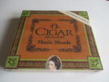 A Cigar Aficionado Music Moods Cd Box Gift Set Collector's Edt 2 Discs 1998 New
