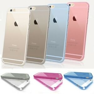 New Ultra Thin Crystal Clear Soft Transparent Case Cover Apple iPhone 6 / 5