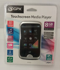 "GPX MT863S Digital Audio Media Player 8GB 2.8"" Touch Display MP3 FM Radio NEW"
