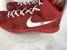 nike lunar hyperquickness 15D Mens Red/ White Basketball Shoes