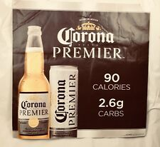 Corona Premier Beer Poster Self Adhesive Man Cave banner New Big 24� X 24�