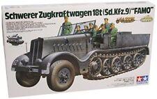 German 18 ton Half - Track Famo - 1/35 Military Model Kit - Tamiya 35239