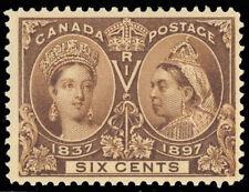 Canada 55 Mint VF OG 6¢ Unitrade $300.00 - Stuart Katz
