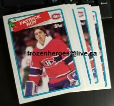 1988-89 Topps #116 Patrick Roy Montreal Canadiens**NRMT**Free Combined Shipping*