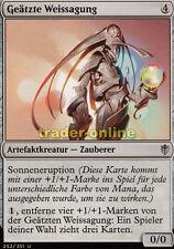 4x Gravure divination (ETCHED ORACLE) Commander 2016 Magic