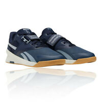 Reebok Mens Lifter PR II Training Gym Fitness Shoes Trainers Sneakers Navy Blue