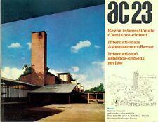 ARCHITETTURA AC 23 LUGLIO 1961  REVUE INTERNATIONALE D'AMIANTE CIMENT