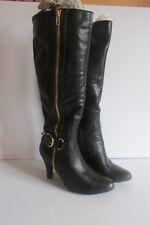 White Mountain Garnet Women's Black Fashion Knee-High Boots Size 5M