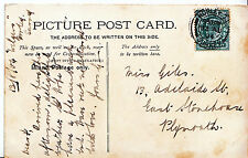 Genealogy Postcard - Family History - Giles - East Stonehouse - Plymouth   A4905