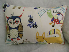 "PRESTIGIOUS FABRIC NATURE TRAIL OBLONG CUSHION 18"" X 12 ""(46 CM X 30 CM)"
