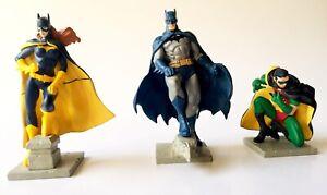 Batman Hush Jim Lee Bandai Gasaphon 3 figures (Robin,Batgirl,Batman)