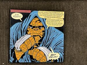 Fantastic Four The Thing Ben Grimm Boxing Enamel Pin!
