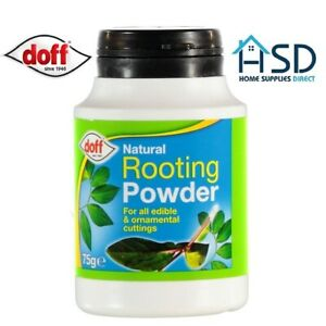 Doff Natural Hormone Rooting Powder Help Encourage Root Growth Plant Cutting 75g