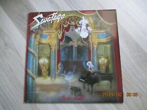 "SAVATAGE-12"" Vinyl Album Gutter Ballet 1989 OIS"