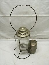 Rare Antique Toledo Acetylene Co Carbide Mining Lamp Cage Lantern Light