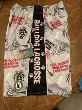 Flow Society Boys Lax Lacrosse Shorts New Nwt Bulldog L Large Grey