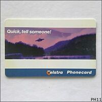 Telstra Quick Tell Someone 97005002P $5 Phonecard (PH11)