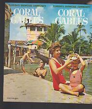 Coral Gables Florida's Showcase Community Brochure 1950s