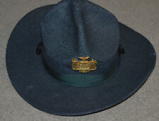 Vtg New York State Police Hat Piece w/ Uniform Hat OBSOLETE Trooper