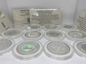 Cryptovest Zinodaur Official Special First Edition Physical LTC Coins w/ COA