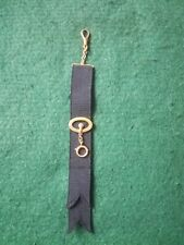 Watch Fob Or Chatelaine. Edwardian 9ct Gold Mounted Pocket