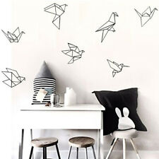 Black Simple Decal Animal Wall Decal PVC Room Wall Stickers Geometry Decal YW
