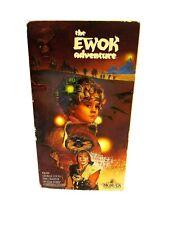 THE EWOK ADVENTURE (vhs) Warwick Davis Rare. Star Wars. Lucas vintage A0114
