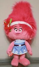 "Trolls  POPPY JUMBO 27"" Holiday Greeter Christmas Plush Stuffed Toy Pink EUC"