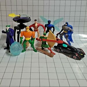 McDonalds Happy Meal Toys 2010 Batman The Brave and The Bold DC Comics Lot of 8