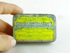 45192 Old Vintage Antique Tin Can Chemist Cocaine Drug vieille boîte médicale