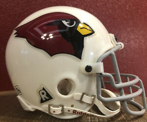 NFL Throwback Arizona Cardinals Riddell Mini  Football Helmet & Facemask