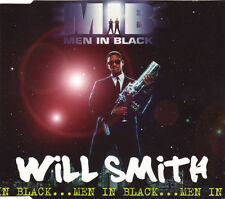 WILL SMITH MEN IN BLACK 4 TRACK UK CD SINGLE FREE P&P