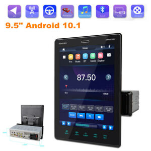 """9.5"""" Android 10.1  HD BT MP5 Player Car Stereo Touch Screen GPS Navi Mirror Link"""