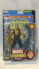 2002 MARVEL LEGENDS NAMOR ACTION FIGURE WITH COMIC BOOK SERIES 2 - NOS