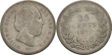 25 Cents 1890 Pays-Bas Willem III 1849 - 1890, Argent #DK218