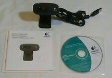 Logitech C270 V-U0018 WebCam Camera Built-in Mic Web Cam HD 720p