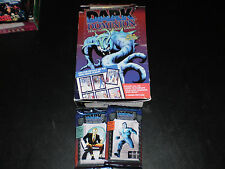 DARK DOMINION PACK LOT 22 PACKS THE RIVER GROUP 1993