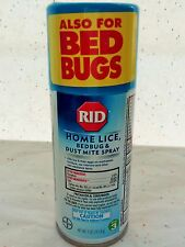RID Home Lice Bed Bug and Dust Mite Spray furniture mattress