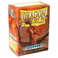 Card Sleeves Solid Color Sleeves Dragon Shields: (100) Copper