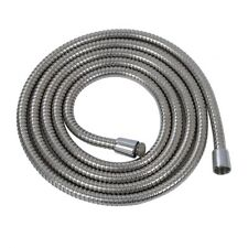 3m Long Stainless Steel 1/2-Inch Bath Shower Flexible Hose Pipe D6